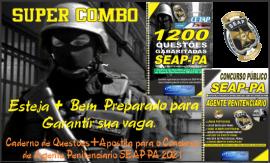 Apostilas Combo impressa SEAP-PA 2021 – AGENTE PENITECIÁRIO