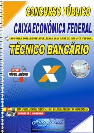 Apostila Digital Concurso Caixa Econômica Federal 2021 Técnico Bancário
