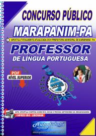 Apostila Digital Concurso Público Prefeitura de Marapanim - PA 2020 Professor de Língua Portuguesa