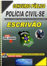 Apostila Digital Concurso PC-SE 2021 Escrivão