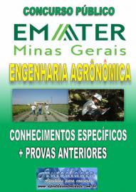 Apostila digital concurso da EMATER-MG 2018  - ENGENHARIA AGRONÔMICA
