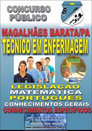 Apostila Impressa Concurso de MAGALHÃES BARATA/PA 2019 – Técnico em Enfermagem