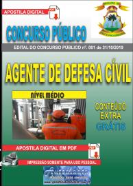 Apostila Digital Concurso - Prefeitura Municipal de Imperatriz - MA 2019 - Agente de Defesa Cível