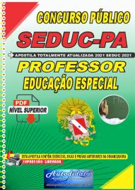 Apostila Digital Concuso Público Seduc-PA 2021 Professor de Educação Especial