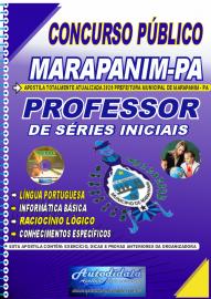 Apostila Impressa Concurso Público Prefeitura de Marapanim - PA 2020  Professor de Séries Iniciais
