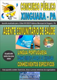 Apostila Impressa Concurso Público Prefeitura de Xinguara - PA 2020 Agente Comunitário de Saúde