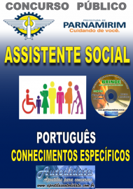 Apostila Impressa Concurso PARNAMIRIM – RN/2019 - Assistente Social