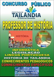 Apostila Impressa TAILÂNDIA/PA 2019 - Professor De História