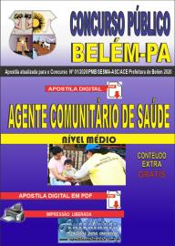 Apostila Digital Concurso Público Prefeitura de Belém - 2020 Agente Comunitário de Saúde