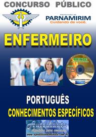 Apostila Impressa Concurso PARNAMIRIM – RN/2019 - Enfermeiro