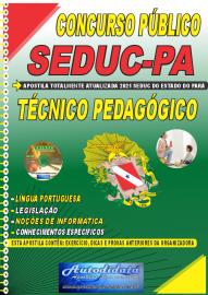 Apostila Impressa Concurso SEDUC - PA 2021 Técnico de Pedagógico