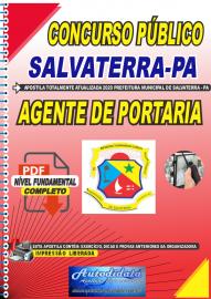 Apostila Digital Concurso Público Prefeitura de Salvaterra - PA  2020 Agente de Portaria