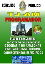 Apostila impressa TJ-AM 2019 - Tribunal de Justiça do Amazonas - Programador