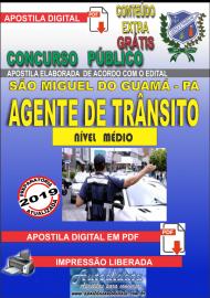 Apostila Digital Concurso SÃO MIGUEL DO GUAMÁ/PA - 2019 - Agente Municipal De Trânsito