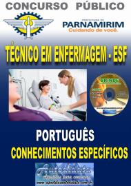 Apostila Impressa Concurso PARNAMIRIM – RN/2019 - Técnico em Enfermagem ESF