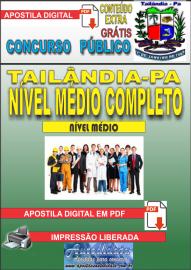 Apostila Digital TAILÂNDIA/PA 2019 - Nível Médio Completo