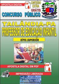 Apostila Digital TAILÂNDIA/PA 2019 - Professor De Educação Infantil