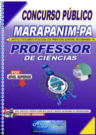 Apostila Digital Concurso Público Prefeitura de Marapanim - PA 2020 Professor de Ciências