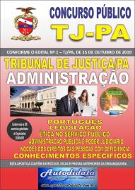 Apostila Impressa Concurso TJ-PA 2019 Administração