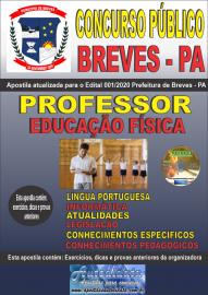 Apostila Impressa Concurso Público Prefeitura de Breves - PA 2020 Professor de Educação Física