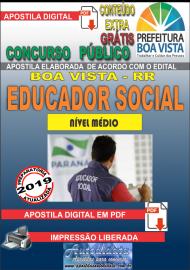 Apostila Digital BOA VISTA/RR 2019 - Educador social