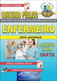 Apostila Digital Concurso Público Prefeitura Municipal de Curuá - Pará 2019 Enfermeiro