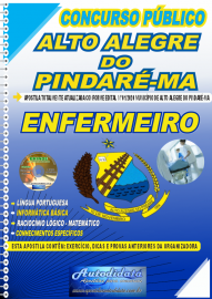 Apostila Impressa Concurso Público Alto Alegre do Pindaré - MA 2020 Enfermeiro
