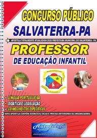 Apostila Impressa Concurso Público Prefeitura de Salvaterra - PA  2020 Professor de Educação Infantil
