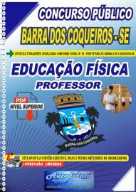 Apostila Digital Concurso Público Prefeitura de Barra dos Coqueiros - SE 2020 Professor de Educação Física