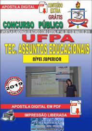 Apostila Digital Concurso UFPA 2019 – Técnico Em Assuntos Educacionais