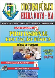 Apostila Digital Concurso Público Prefeitura de Feira Nova - MA 2020 - Prossional Educação Física