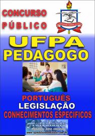 Apostila digital Concurso UFPA-PA 2018 - Pedagogo