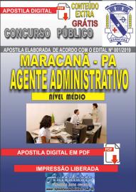 Apostila Digital Concurso de Maracanã/Pa 2019 – Agente Administrativo