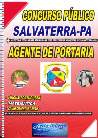 Apostila Impressa Concurso Público Prefeitura de Salvaterra - PA  2020 Agente de Portaria