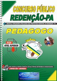 Apostila Digital Concurso Público Prefeitura de Redenção - PA 2020 Pedagogo