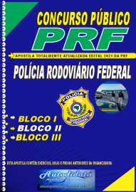 Apostila Impressa Concurso da Polícia Rodoviaria Federal 2021 - Polícial Rodoviário Federal
