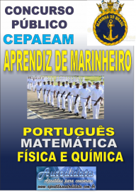 Apostila impressa concurso da MARINHA DO BRASIL 2018 - Aprendizes Marinheiros