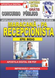Apostila Digital Concurso de Maracanã/Pa 2019 – Recepcionista
