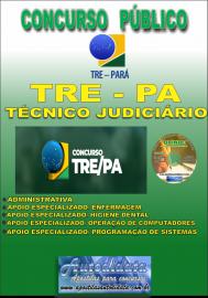 Apostila Impressa Concurso TRE-PA 2019 - Técnico Judiciário