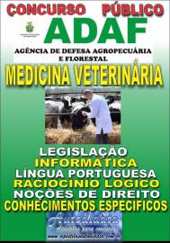 Apostila Impressa Concurso ADAF - AM - 2018 - Medicina Veterinária