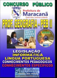 Apostila Impressa MARACANÃ/PA 2019 - Professor Anos Finais – Peb II –Geografia