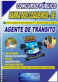 Apostila Impressa Concurso Público Prefeitura de Barra dos Coqueiros - SE 2020 Agente de Trânsito