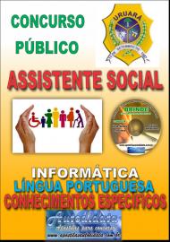 Apostila Impressa Processo Seletivo de URUARÁ/PA 2019 – Assistente Social