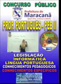 Apostila Impressa MARACANÃ/PA 2019 - Professor Anos Finais – Peb II –Língua Portuguesa