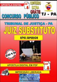 Apostila Digital TJ/PA 2019 - Juiz Substituto
