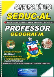 Apostila Impressa Concurso SEDUC - AL 2021 Professor de Geografia