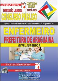 Apostila Digital Concurso Público Prefeitura Araguaína - TO 2020 Área Enfermeiro