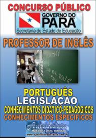 Apostila Digital Concurso SEDUC-PA 2018 - Professor de Inglês
