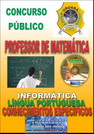 Apostila Impressa Processo Seletivo de URUARÁ/PA 2019 – Professor de Matemática