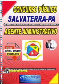 Apostila Digital Concurso Público Prefeitura de Salvaterra - PA 2020 Agente Administrativo